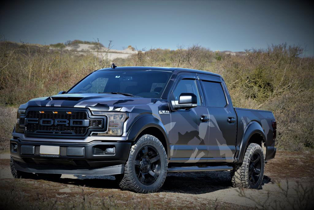 ford f150 wrappen wrap
